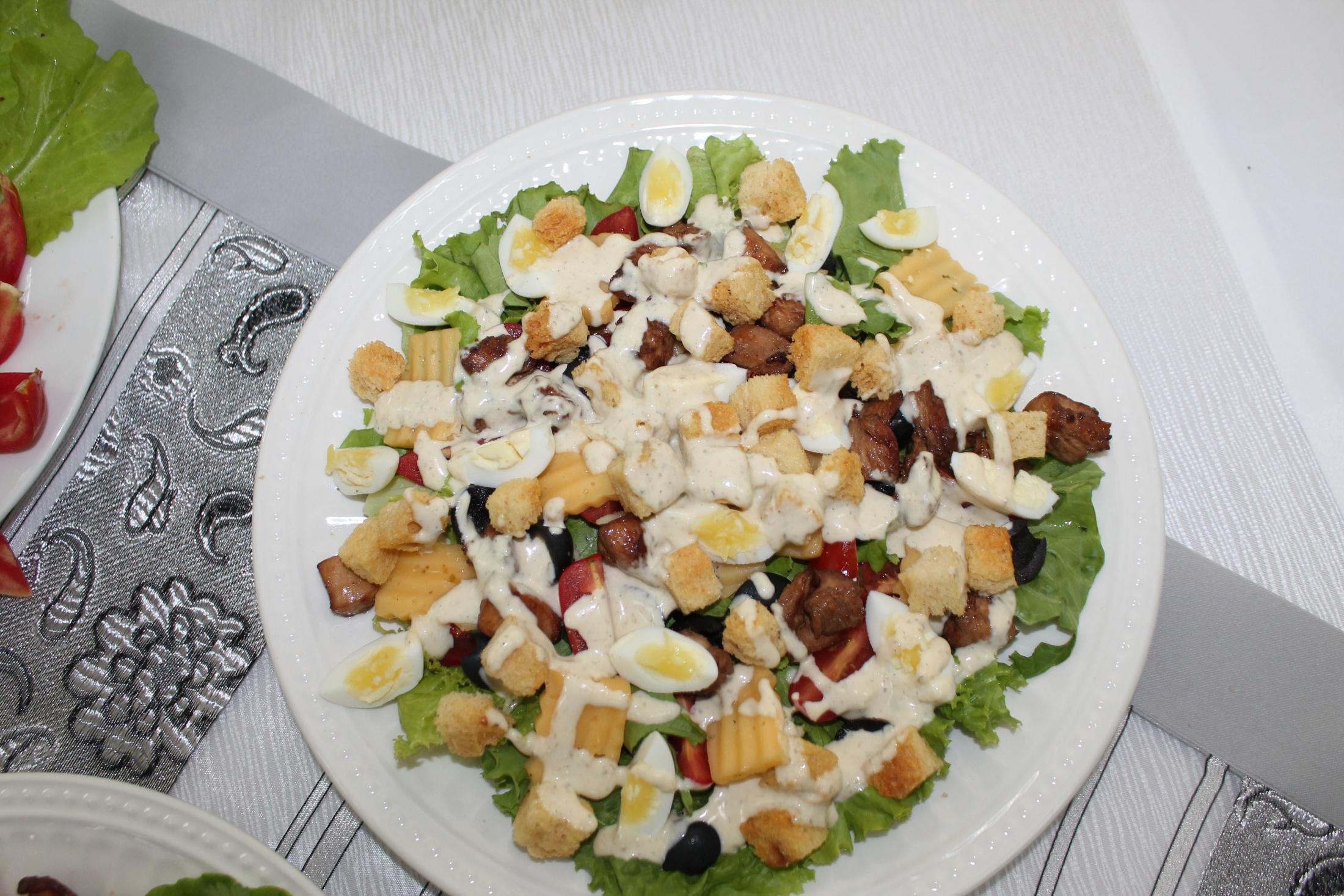 Рецепты салатов мастер класс с фото